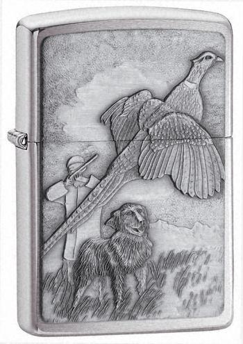 Flushing Pheasant Emblem