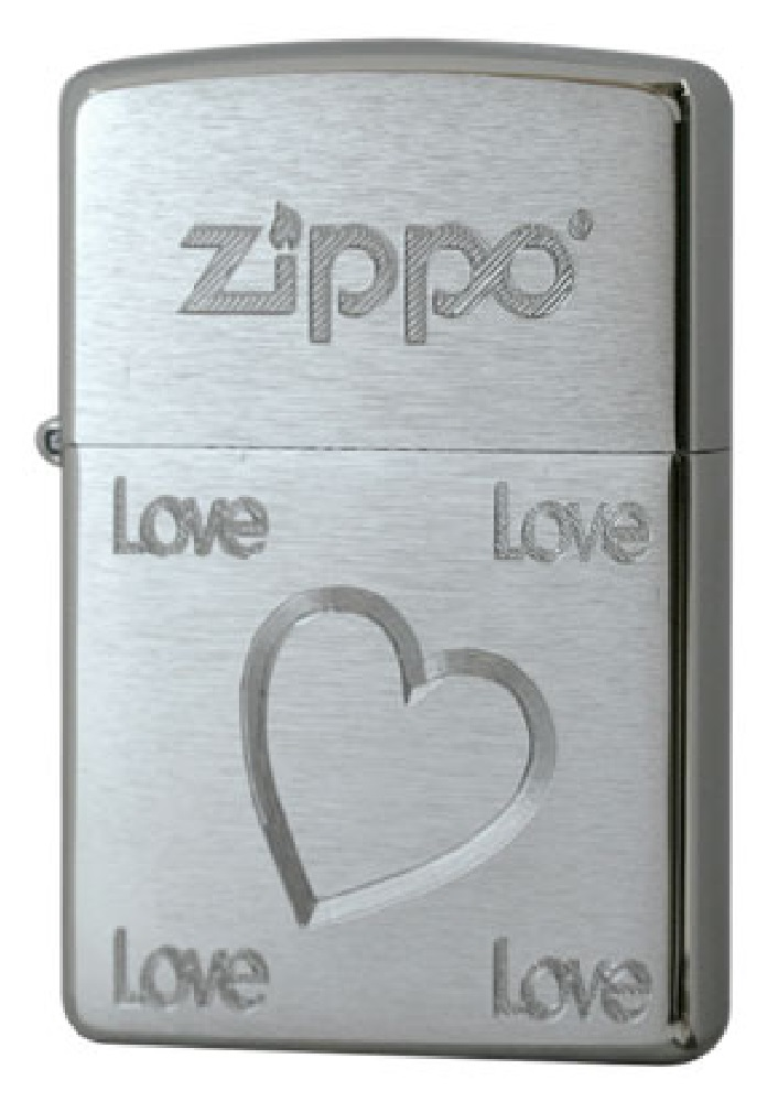 Love And Heart Lighter – Silver