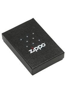 ZIPPO PLAIN WITH LOGO NEON ORANGE MATTE