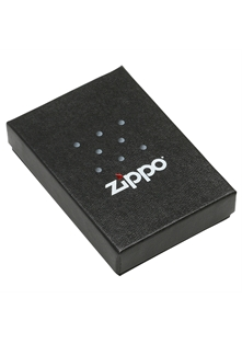 Black Matte with Zippo Logo and Border Slim