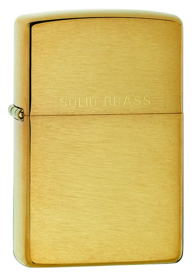 Classic Brushed Solid Brass