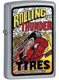 Rolling Thunder Art
