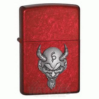 El Diablo Emblem Candy Apple Red