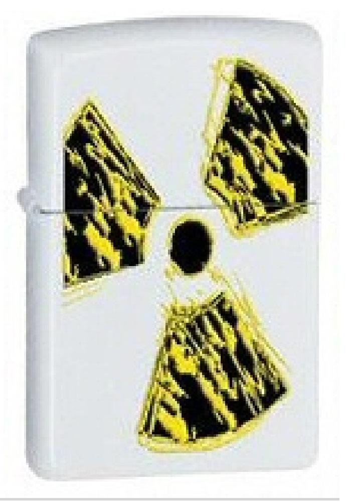 Radioactive White Matte