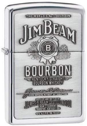 Jim Beam Pewter Emblem High Polish