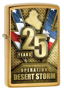 Zippo Operation Desert Storm 25th Anniversary