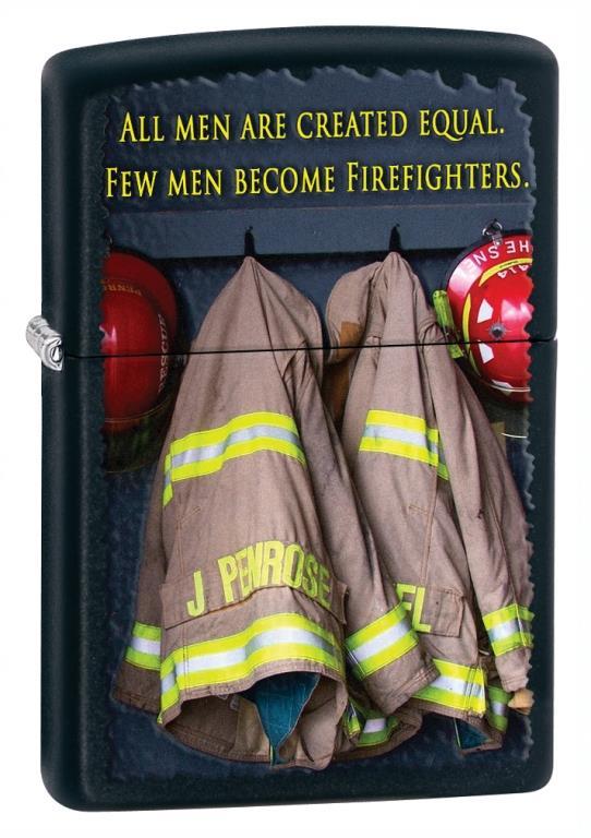 Fireman Coats Black