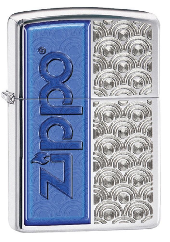 Classic High Polish Chrome Special Design Windproof Pocket Lighter