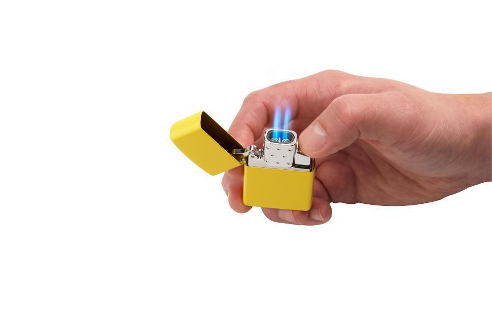 Ruột Zippo sử dụng Ga Butane Lighter Insert – Double Torch