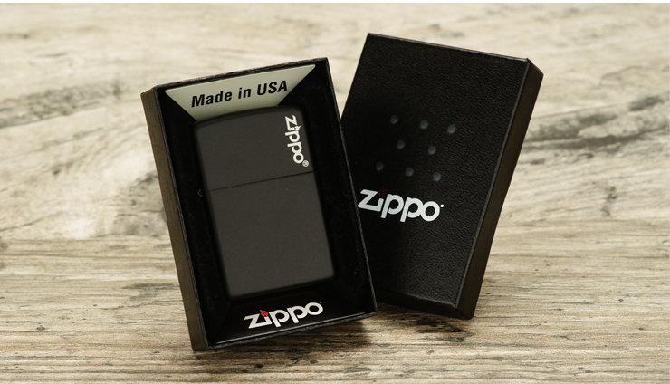 Black Matte with Zippo Logo
