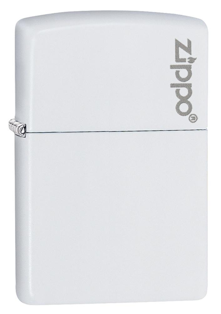 White Matte with Zippo Logo