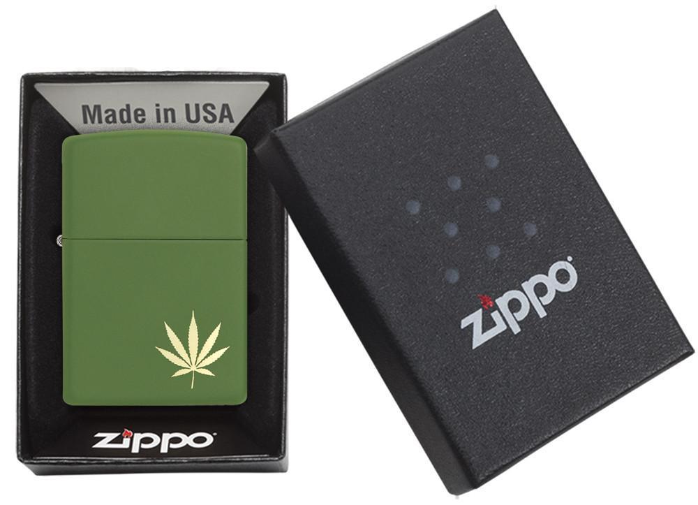 Marijuana Leaf on the Side