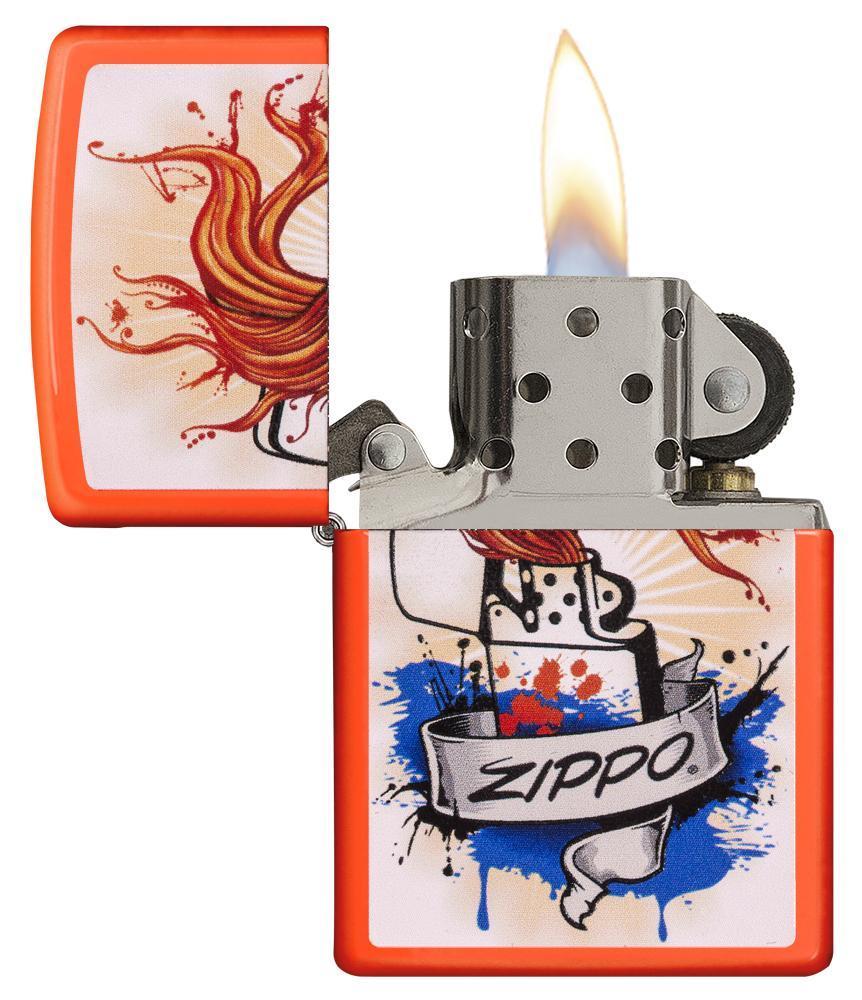 Zippo Splash