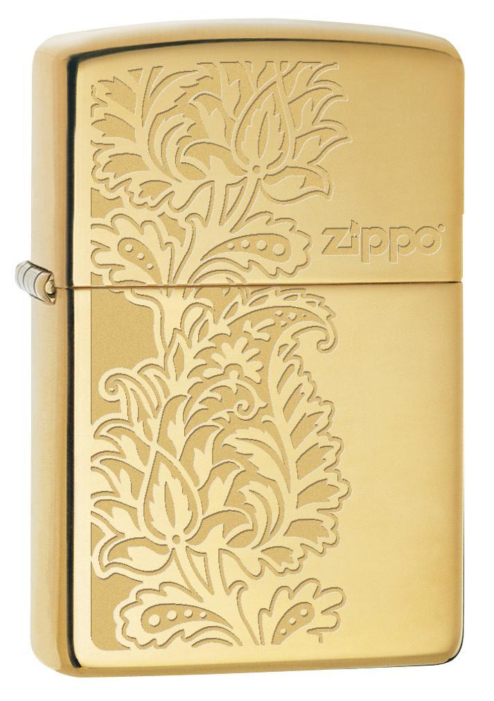 Paisley Zippo Design