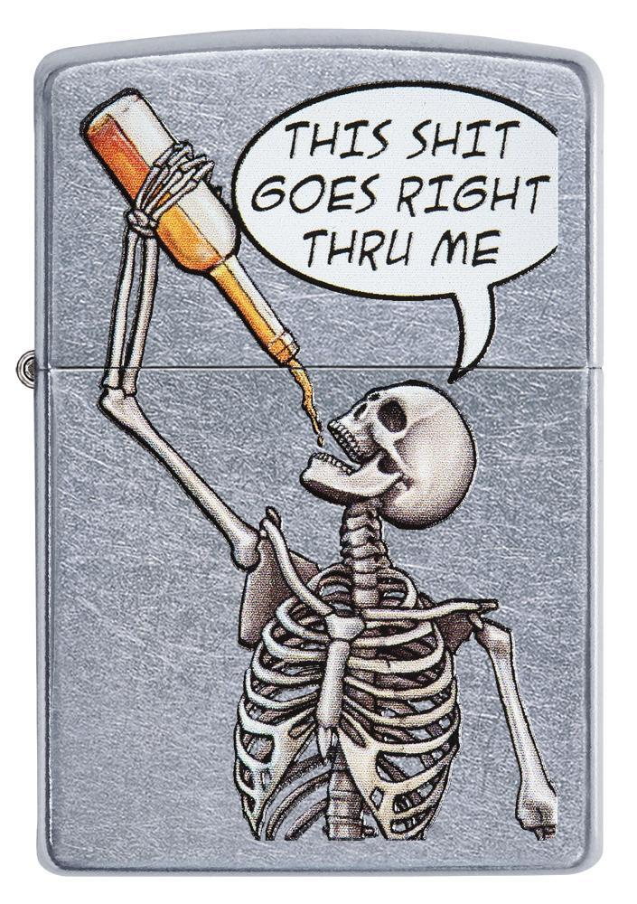 Drinking Skeleton