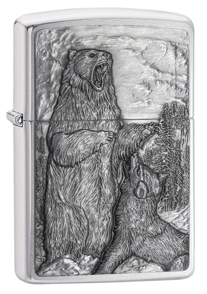 Bear vs. Wolf