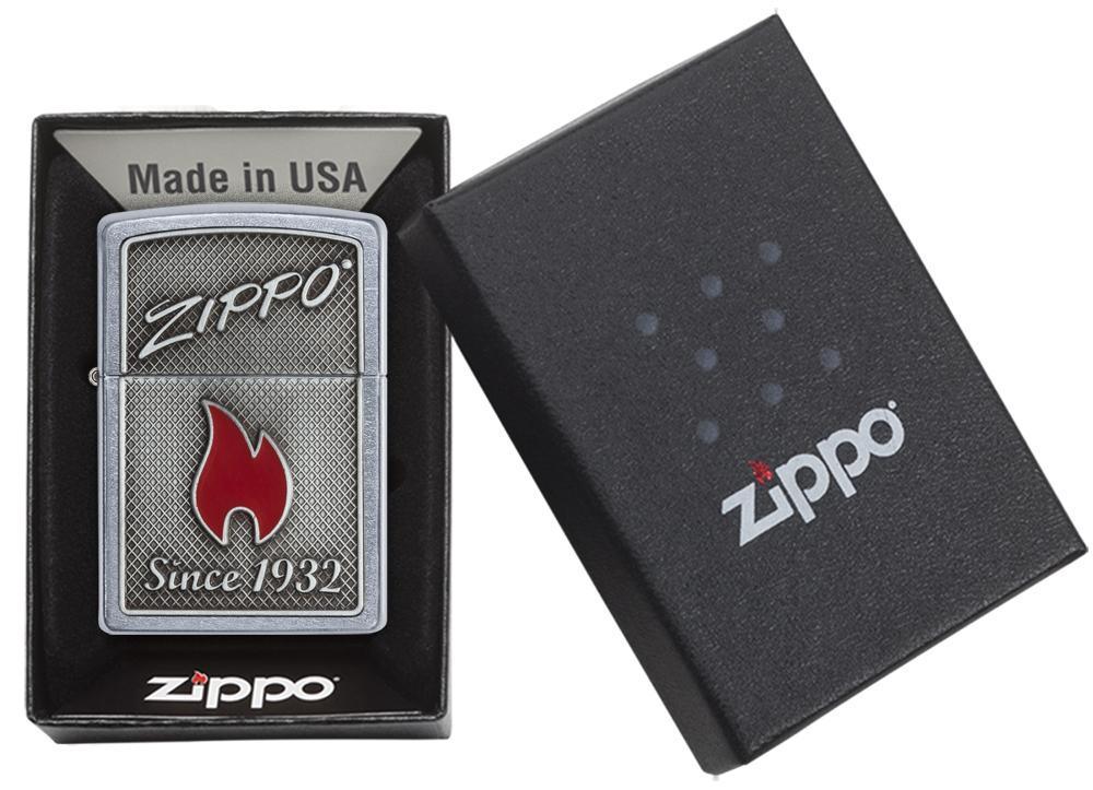Zippo and Flame