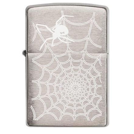 Spider web black widow