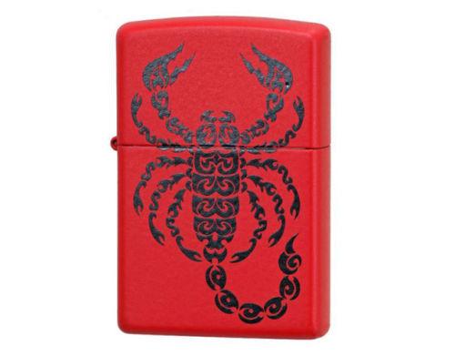 Tribal Scorpion Red Matte