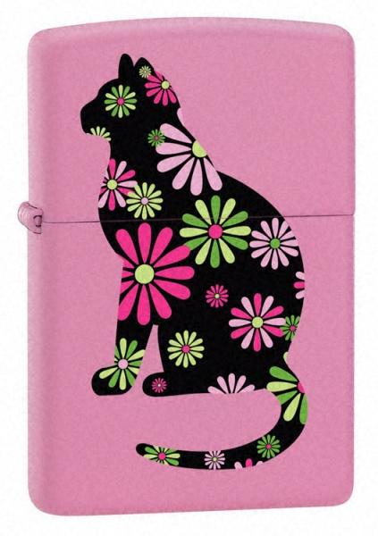 Funky Cat Pink Matte