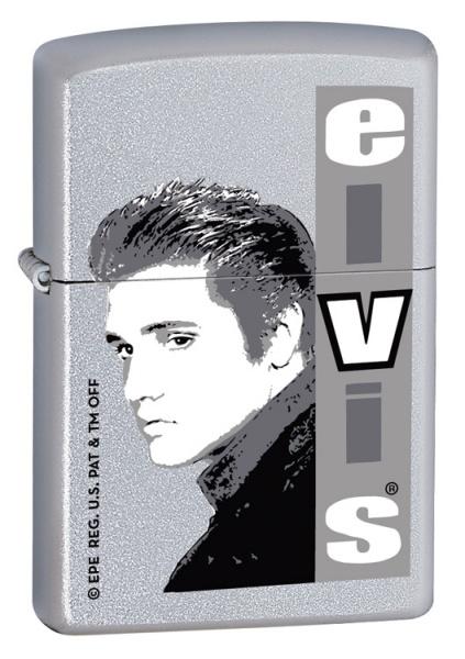 Elvis Monochrome Satin Chrome