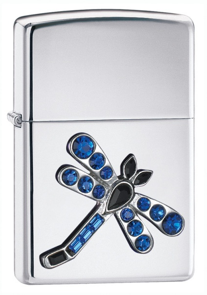 Silver Dragonfly Emblem