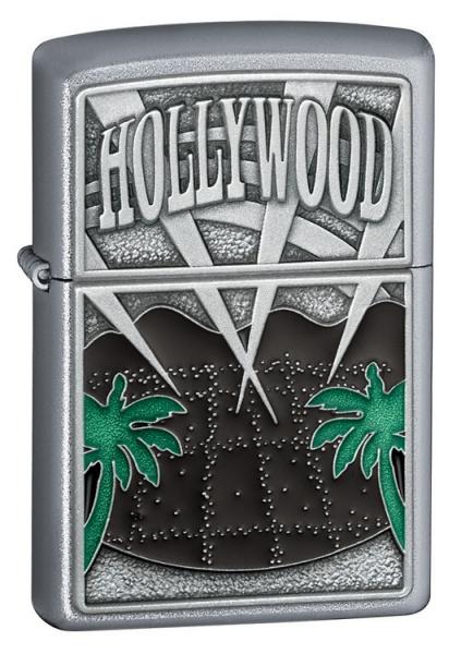 Hollywood Palm Trees Emblem
