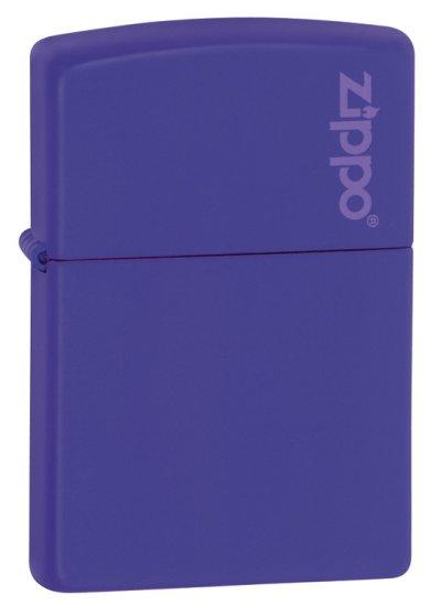 Matte Purple with Logo