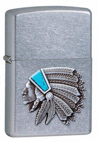 Native Chief Emblem