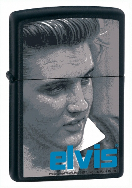 Elvis Blue Black Matte