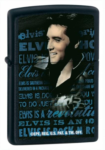 Elvis Black Matte