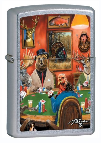 Linda Picken Animal Card Table