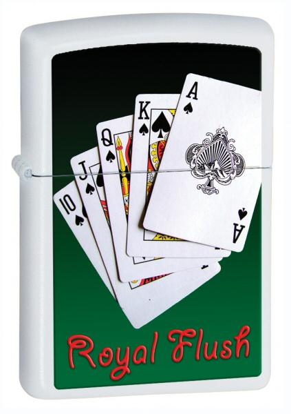 Royal Flush White Matte