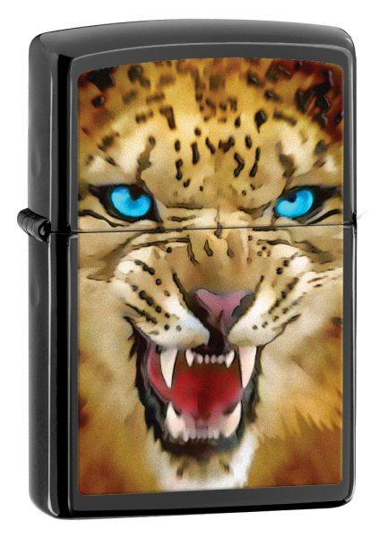 BS Leopard High Polish Black