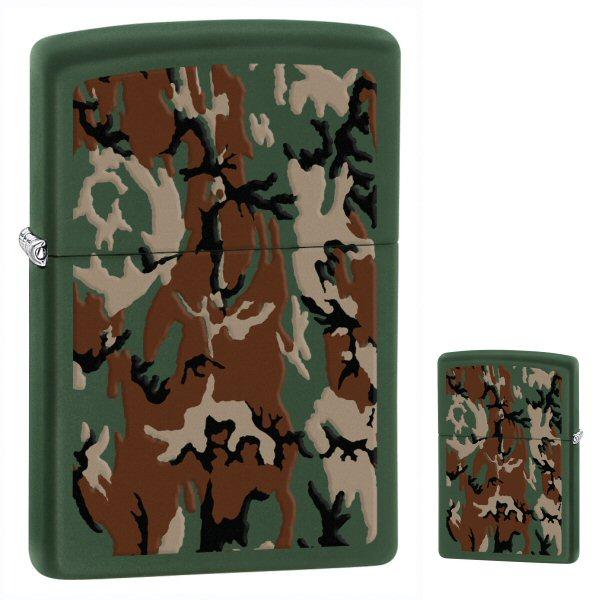 Camouflage Green Matte