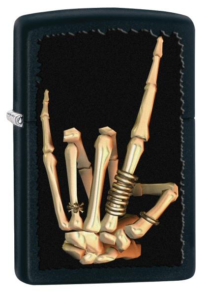 Heavy Metal Salute Skeleton
