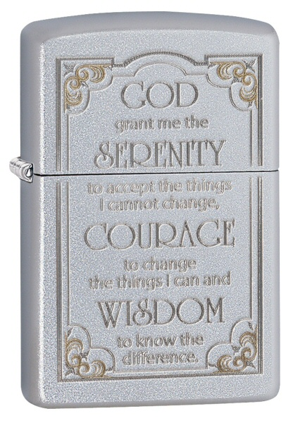 Serenity Prayer Satin