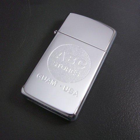Zippo Slim High Polish Chrome Lighter