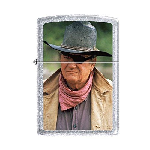 Rare John Wayne Rooster Cogburn Zippo Lighter 15418