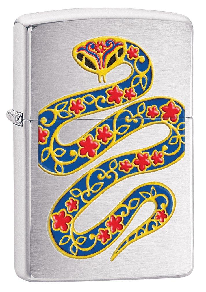 Zippo Year of the Snake 2013 Pocket Lighter
