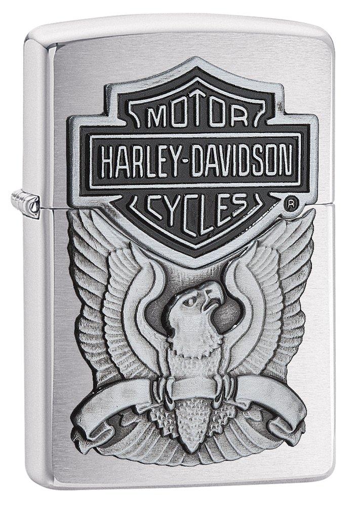 Zippo Harley-Davidson Eagle Wings Pocket Lighter