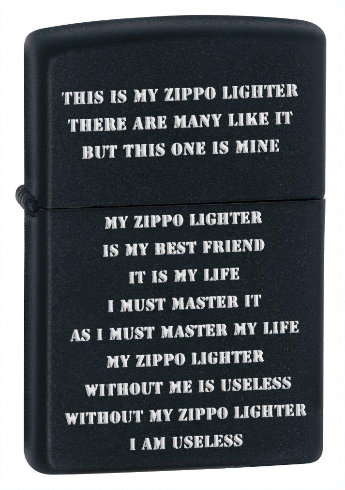 ZPP CRD Black Matte