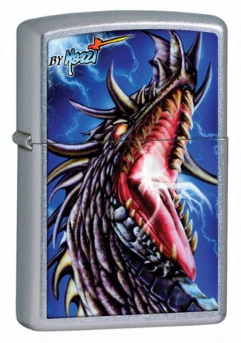 Zippo Claudio Mazzi Dragon Lighter