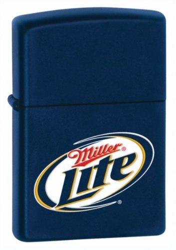 Zippo Miller Lite Lighter – Navy Matte