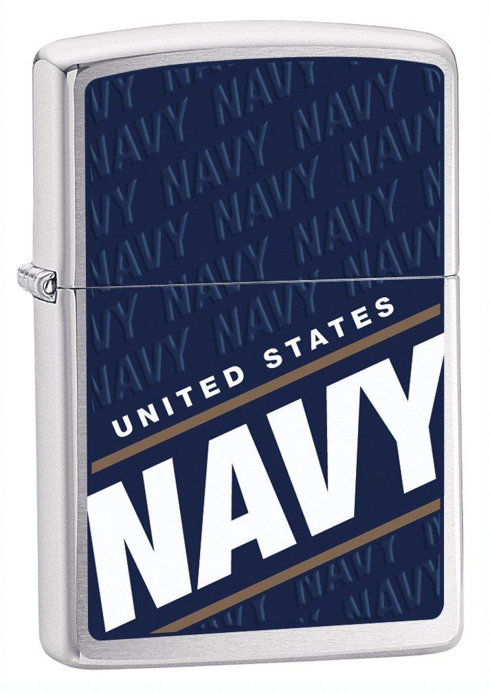 Zippo Military Navy Blue Pocket Lighter
