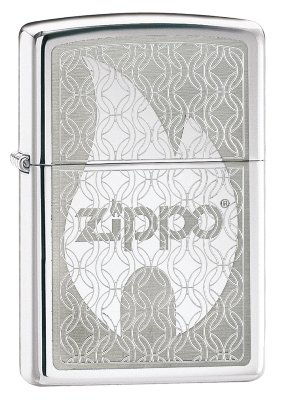 Zippo Patterned Flame