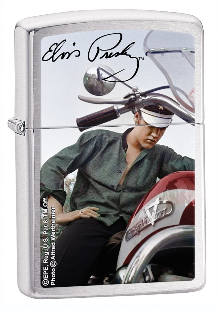 Elvis on Motorbike