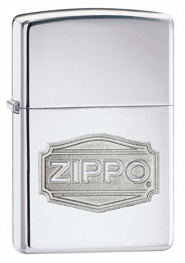 Zippo Logo High Polish