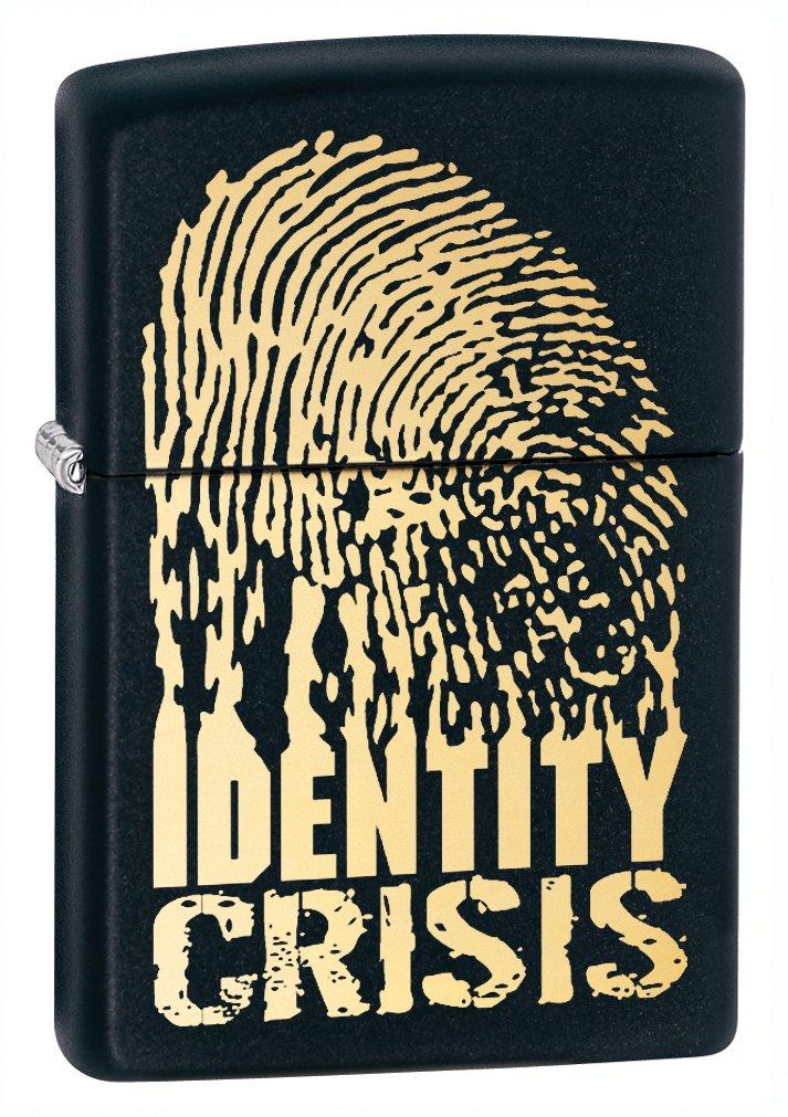 Identity Crisis Black Matte