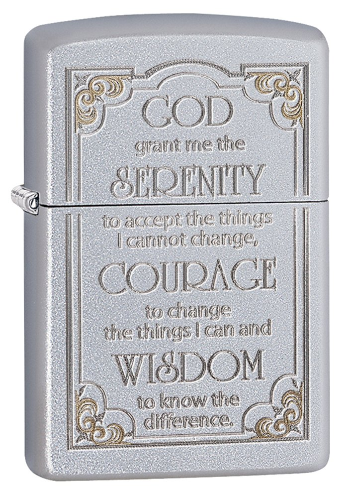 Serenity Prayer Satin